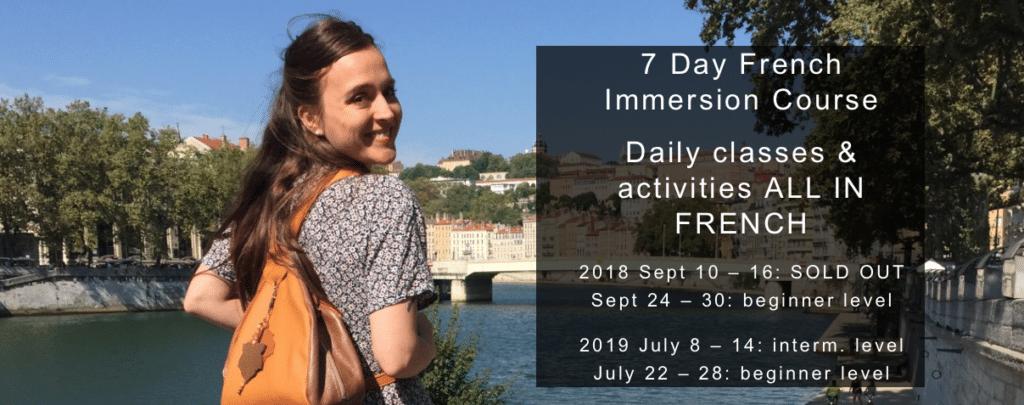 Full French Immersion Program