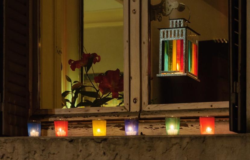 Lyon December 8 light festival