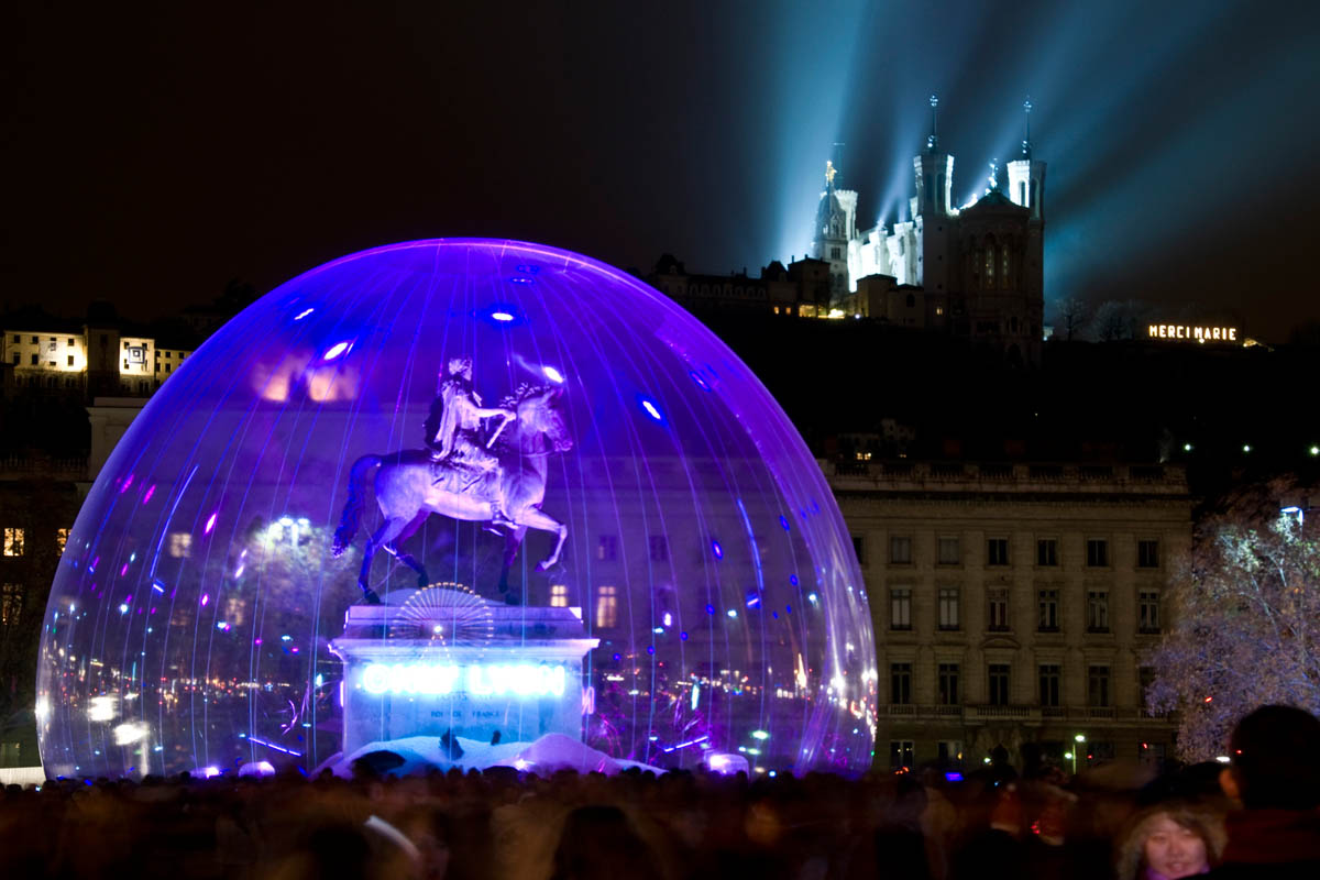 Lyon December 8 light festival