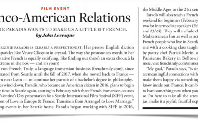 French Truly in Seattle Business Magazine