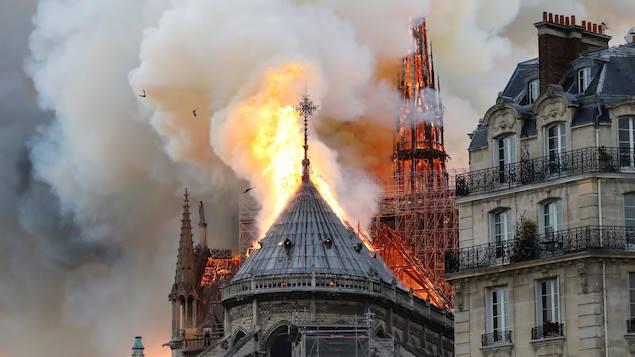 Notre-Dame de Paris stands proud
