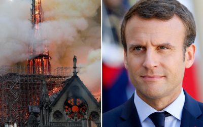 Macron (in French) about Notre-Dame de Paris