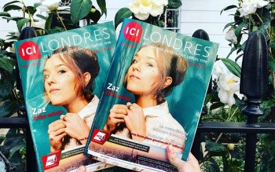 French Truly featured in Magazine ICI LONDRES