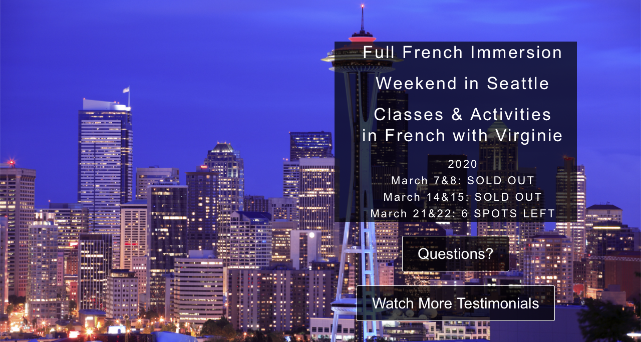 French Immersion Course Seattle