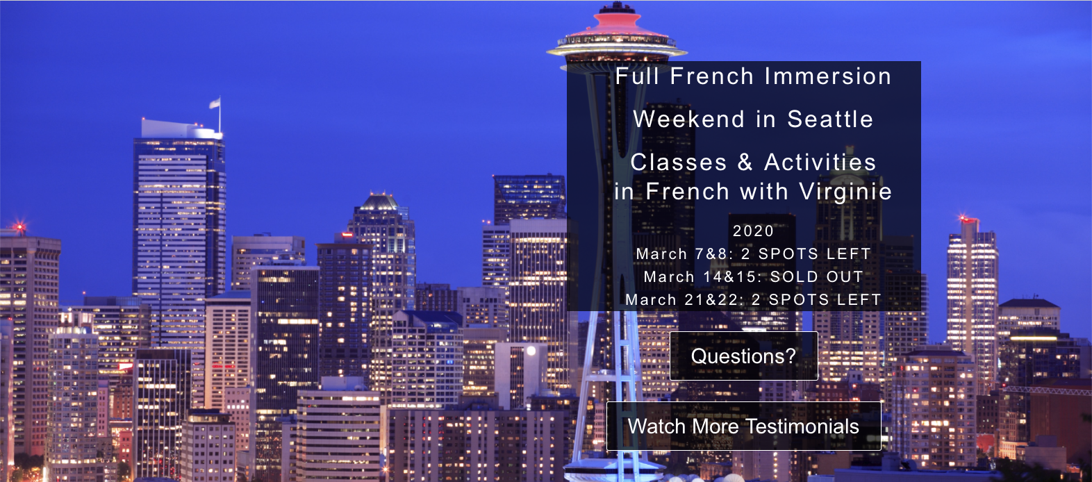 French Immersion Course