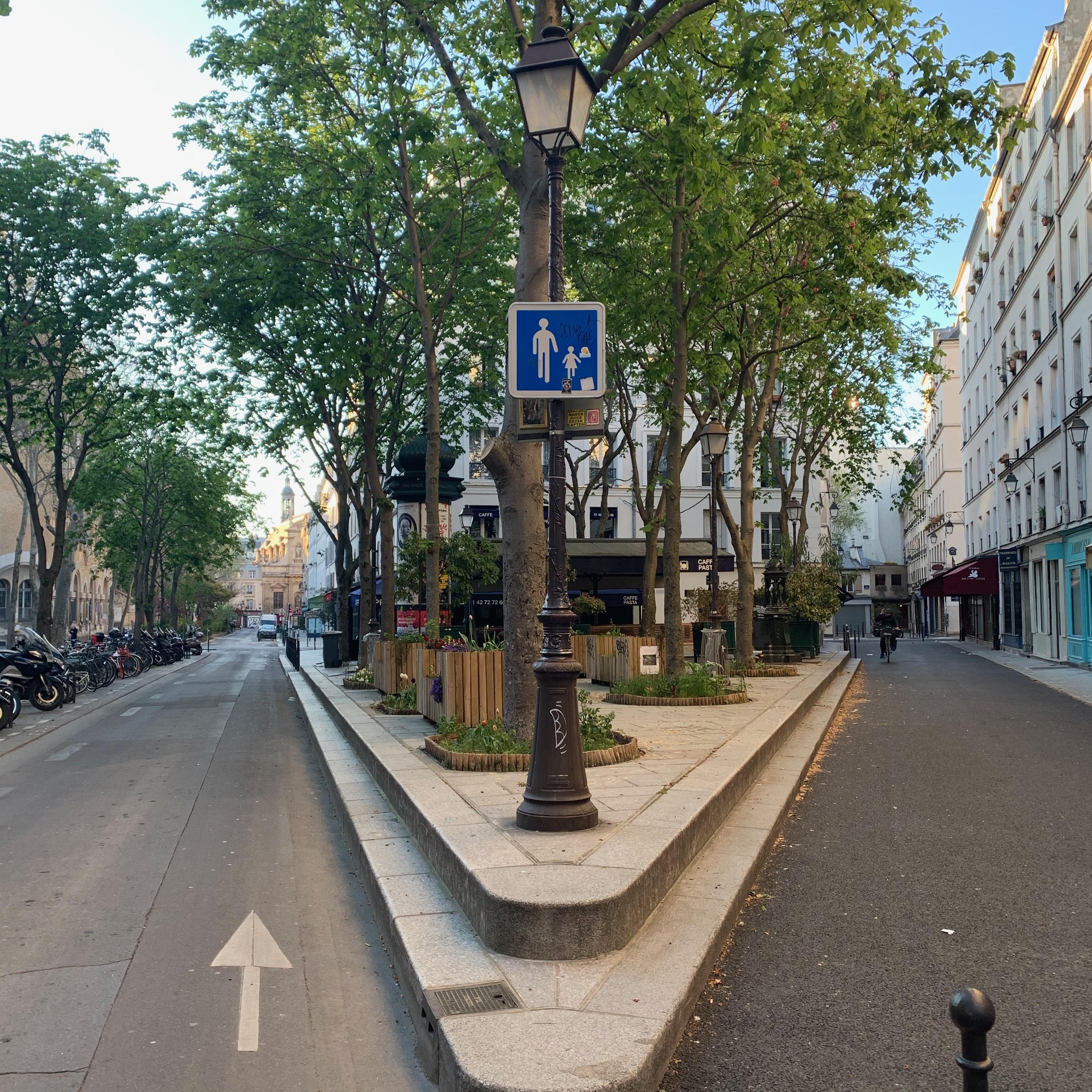Paris lockdown quarantine