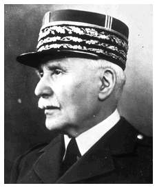 Caption: Maréchal Pétain 1856 - 1951 / Head of France under Nazi occupation
